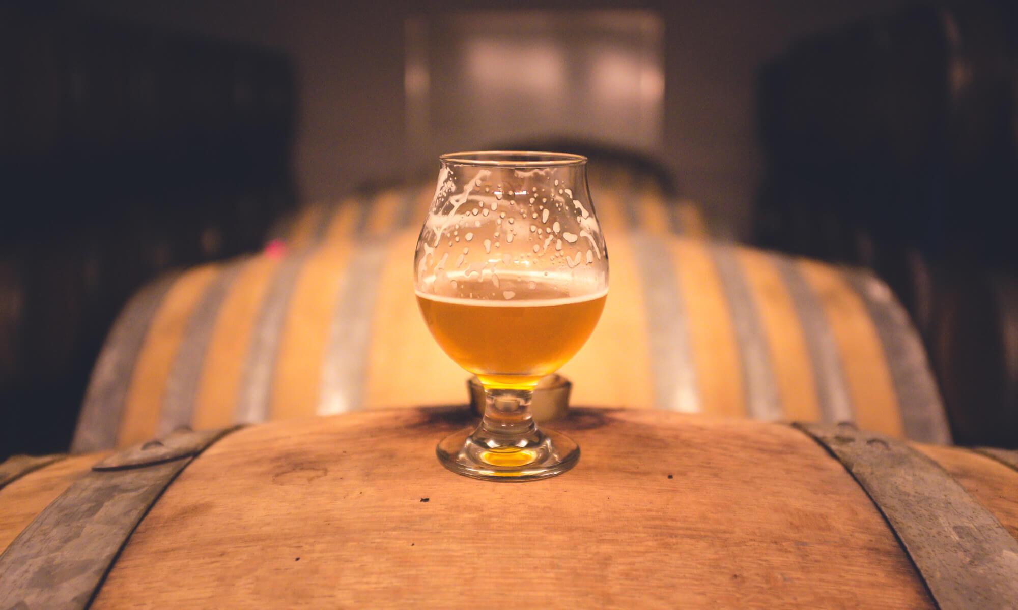 Barrel aged bier