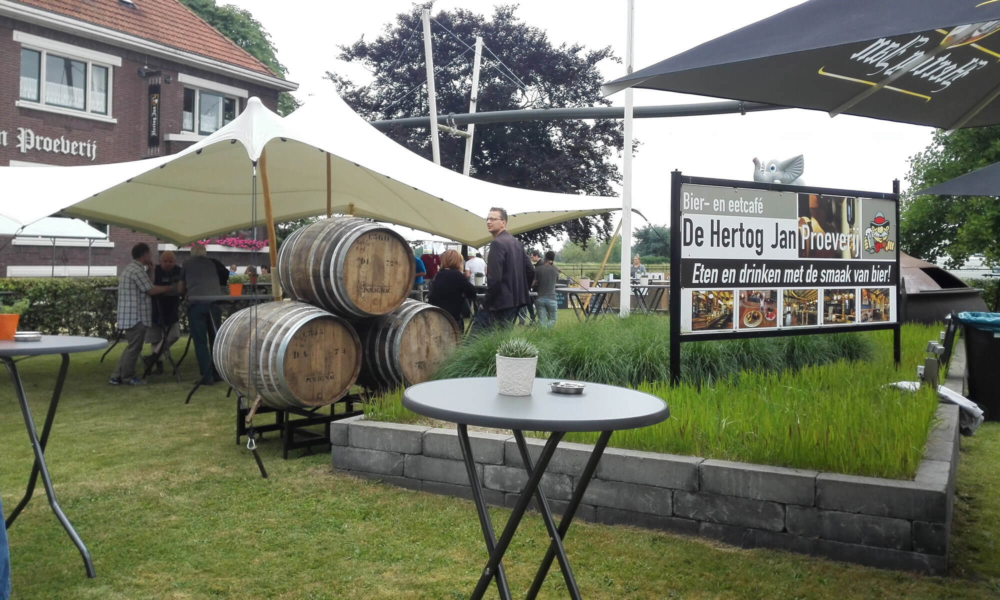 Impressie van het Arcener bierfestival 2017