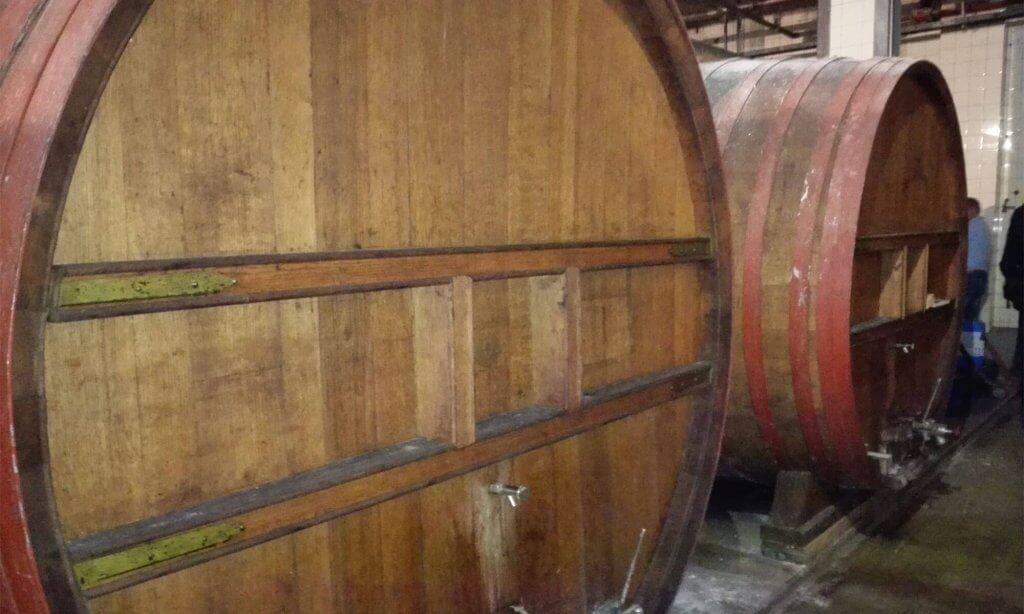De houten vaten