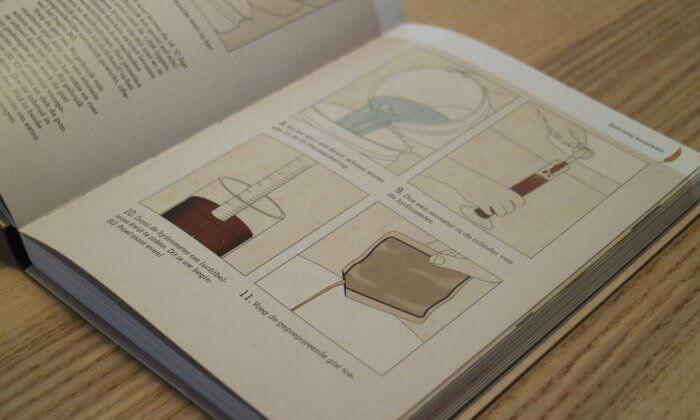 Het boek zelf bier brouwen wordt vergezeld met heldere illustraties