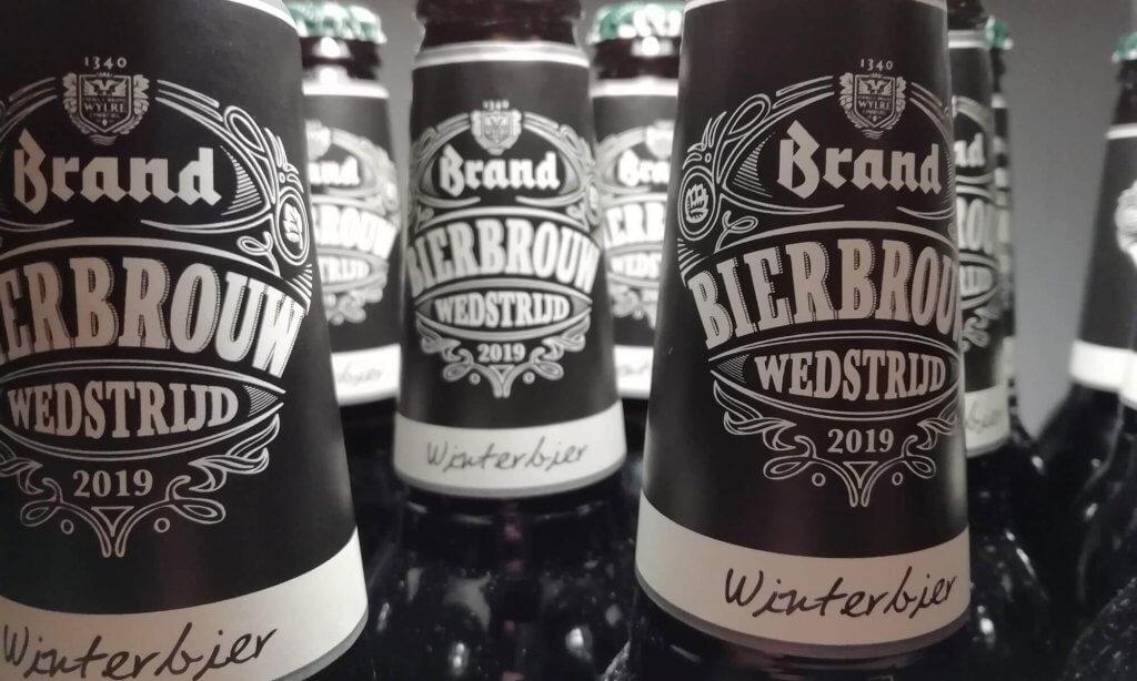 Mijn inzending van de Brand bierbrouwwedstrijd staat klaar!