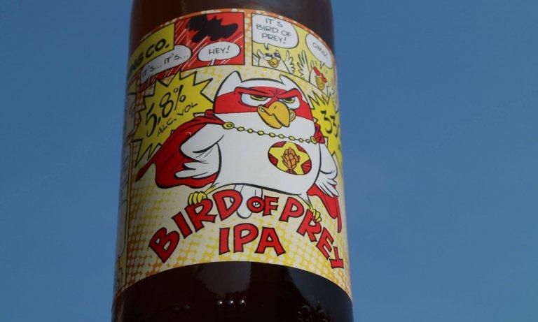 De bird of prey van brouwerij 't Uiltje uit Haarlem.