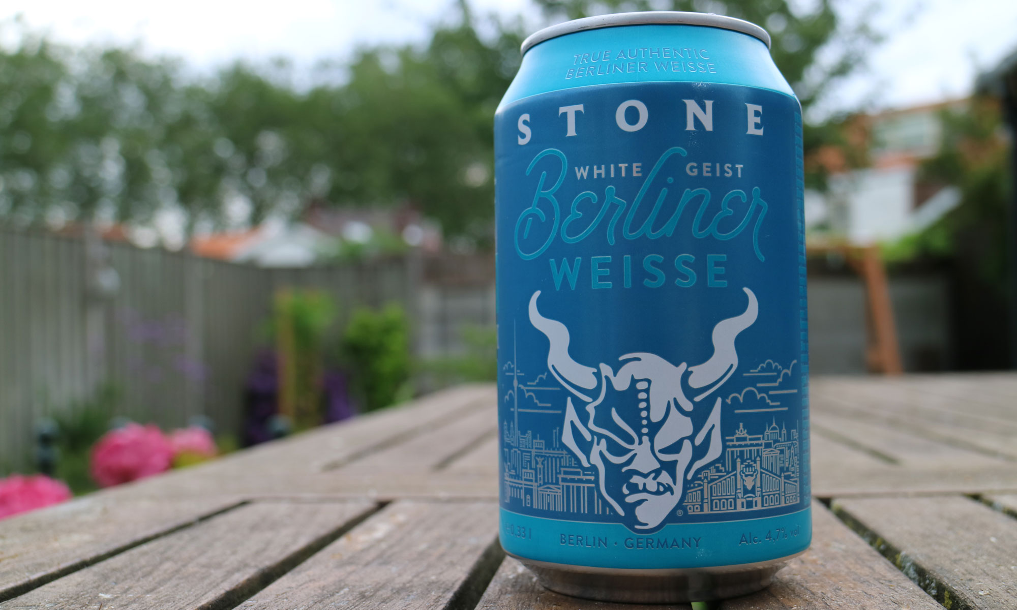 De White Geist van Stone Brewing