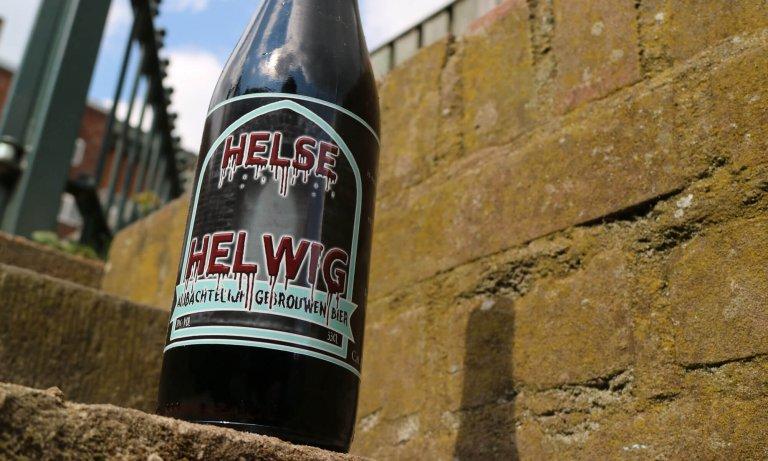 De Helse Helwig van brouwerij de Blauwe Knoop