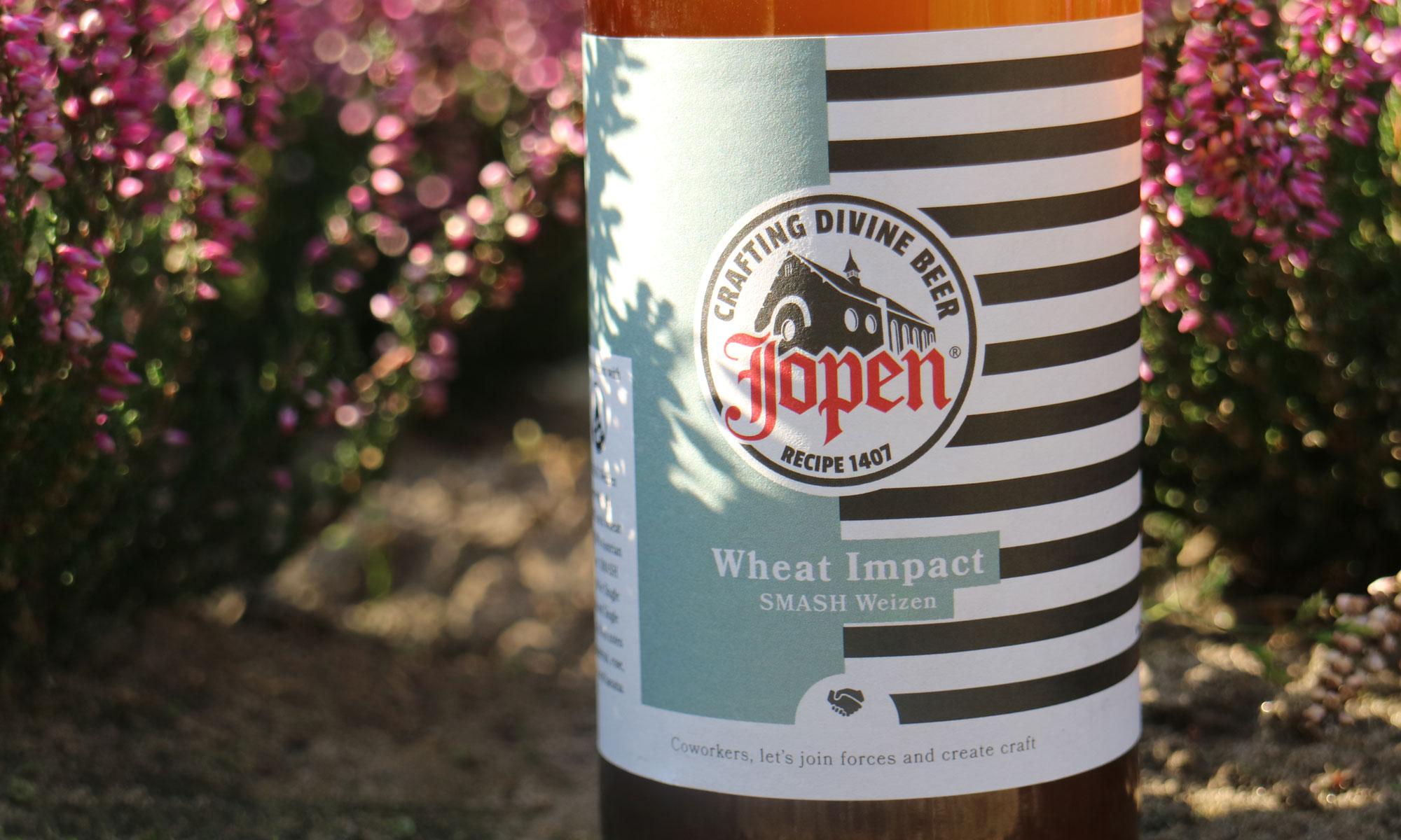 De Wheat Impact gebrouwen door Jopen en Brew Age