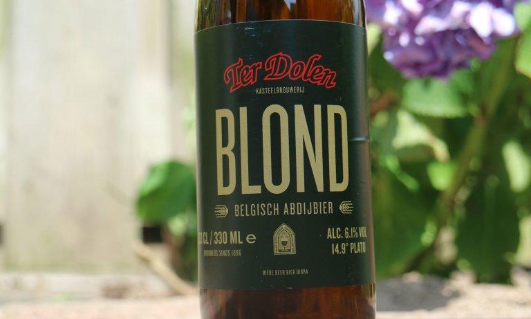Het blond van kasteelbrouwerij Ter Dolen