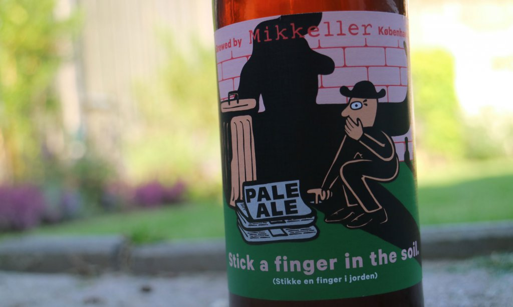De Stick a finger in the Soil van brouwerij Mikkeler