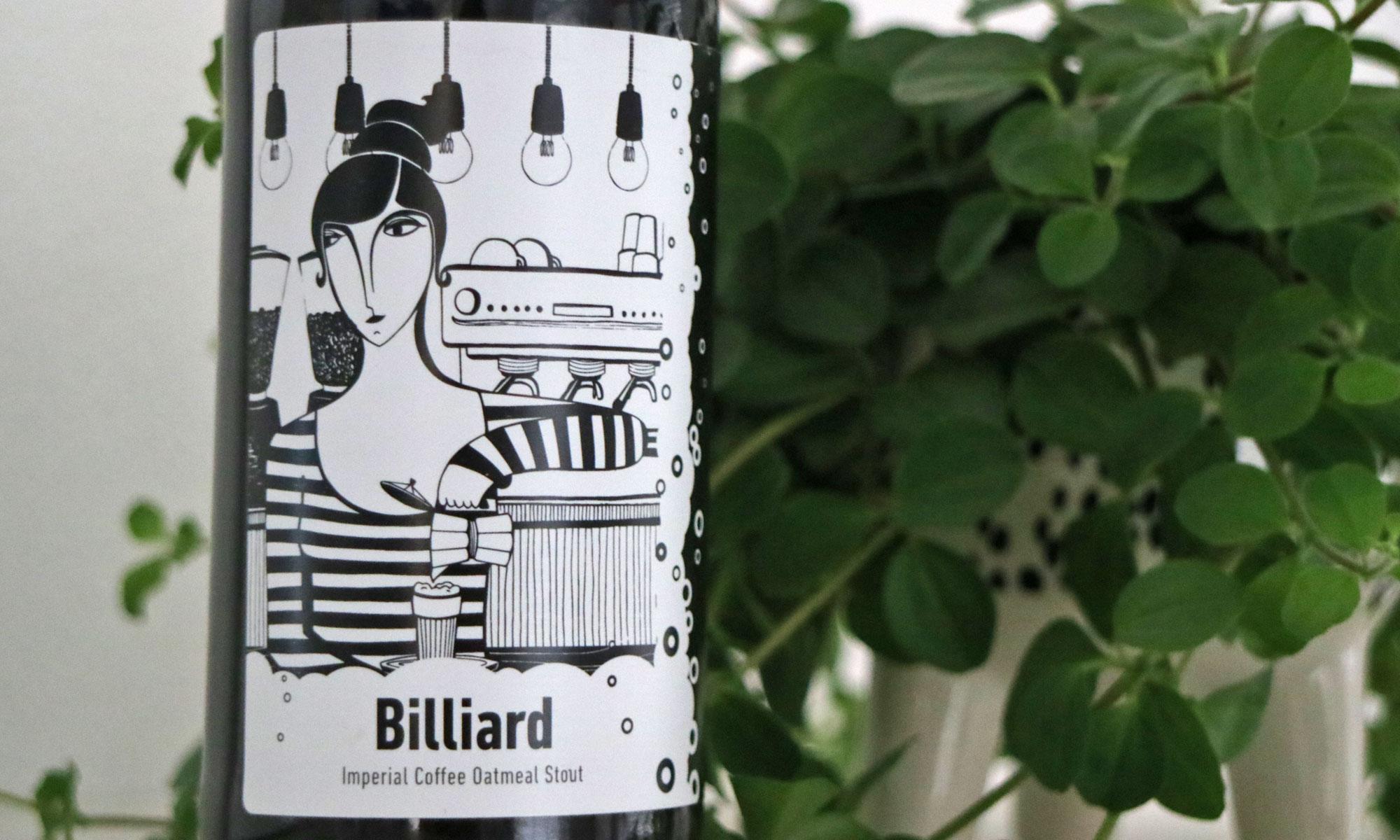 De Billiard van Frontaal uit Breda