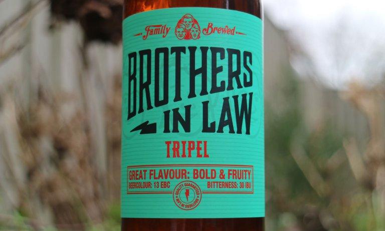 De Tripel gebrouwen door Brothers in Law Brewing