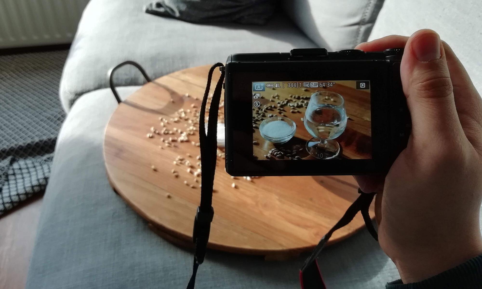 Een brouwblog: Het schieten van een foto.