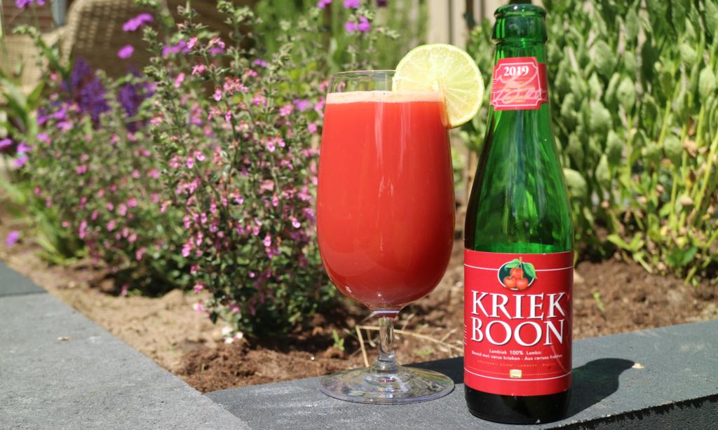Bier Sangria met Kriek Boon