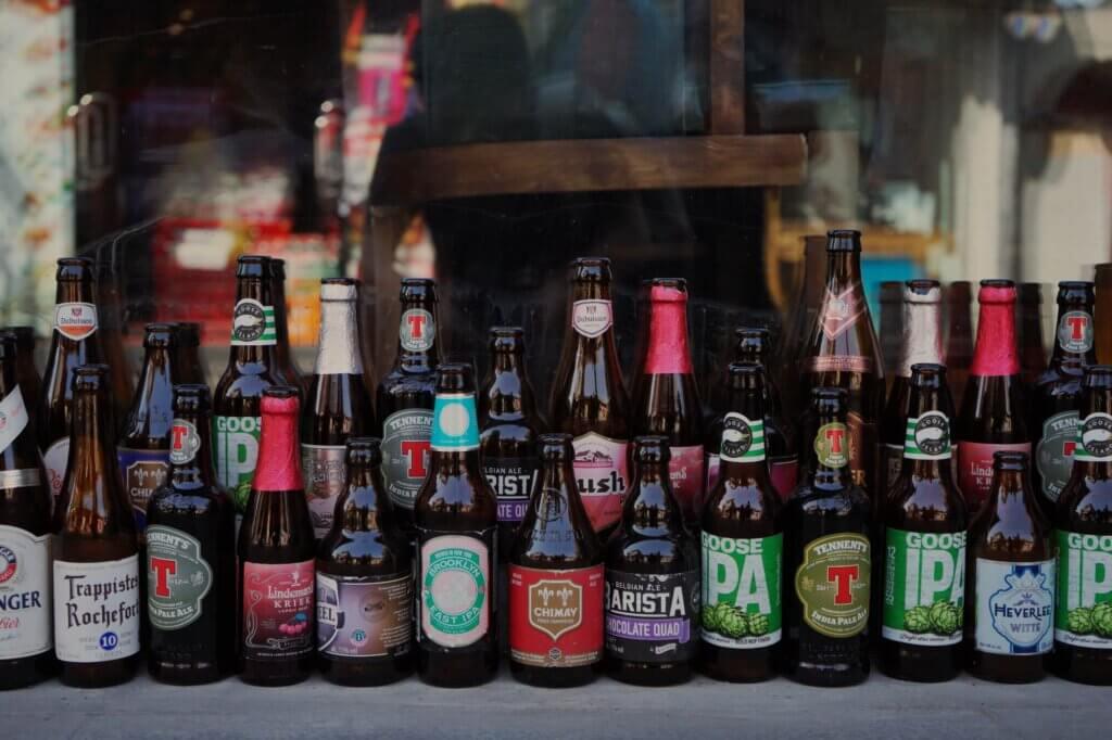 De bieren bij de supermarkt worden steeds divers