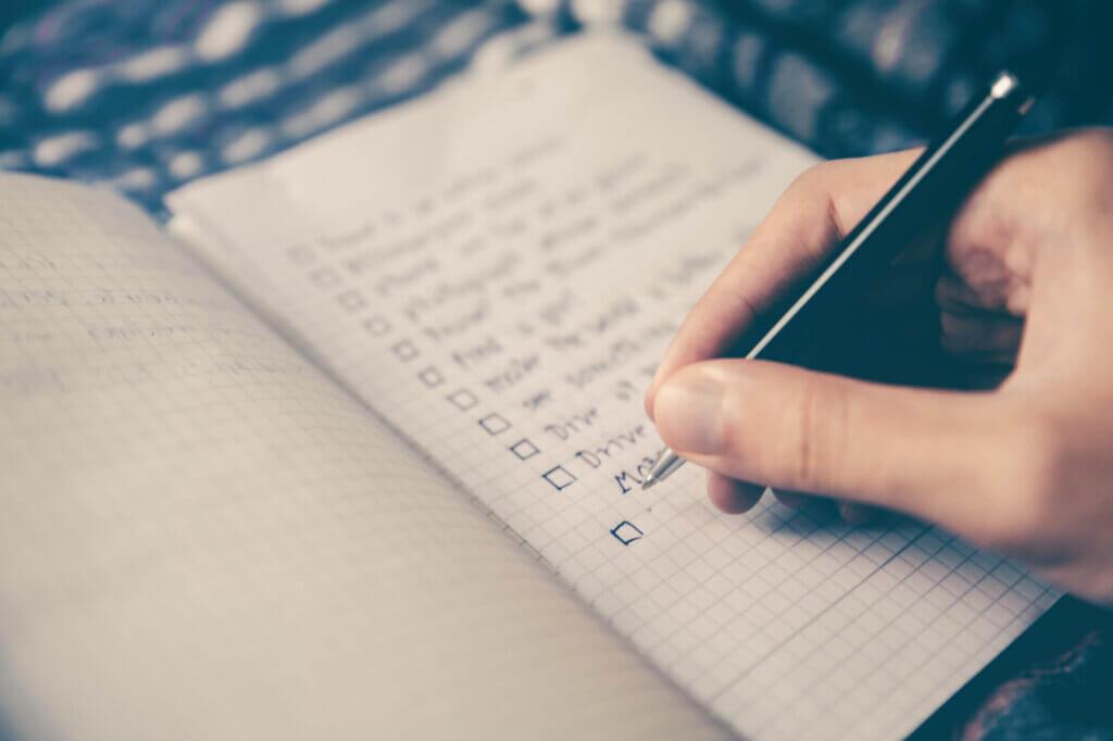 Een checklist helpt je bij het voorbereiden van een brouwdag.