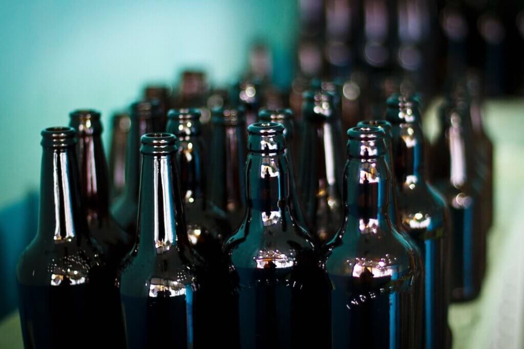 Flesjes zonder bieretiket
