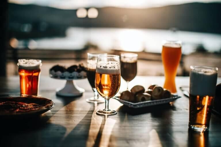 Het proeven van bier