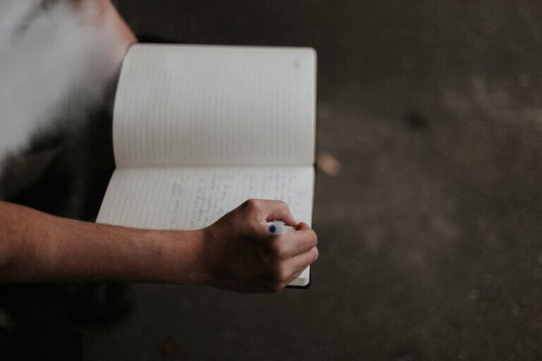 Het bijhouden van een logboek helpt je om het recept bij te sturen